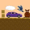 Dry Desert Car Race