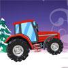Drive Christmas Tractor