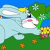 Cute Bunny Boy Coloring