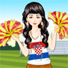Football Cheerleader Dressup