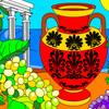 Beautiful Vase Coloring