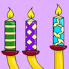 Candle Lights Coloring