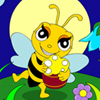 Cute Honey Bee Coloring