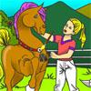 Pretty Horse Coloring