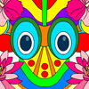 Color the Tribal Mask